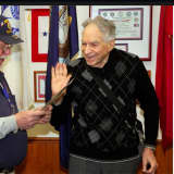 WWII Vet Becomes Member Of American Legion Of Old Tappan