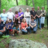 Hikers Enjoy Outing At Monroe's Chalk Hill On National Trails Day