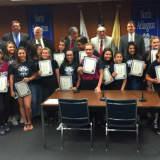 North Arlington Starz Cheerleaders Win Recreation Championship