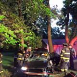 Police Investigate Chestnut Ridge Car Accident; Driver Injured