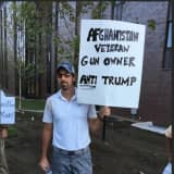 Protesters Turn Up The Heat At 'Love Trumps Hate' Rally At Fairfield's SHU