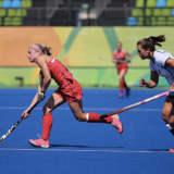 Olympics End for Mohegan Lake's Gonzalez, U.S. Field Hockey