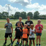 Local Athletes Put On Clinic At Hasbrouck Heights Punt, Pass, Kick Event