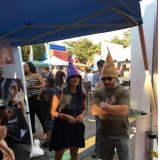 Crowds Take A Taste Of The Blues, Views & BBQ Festival In Westport