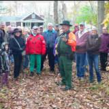 Hikers Take Creepy Monroe Historical Fall Foliage Cemetery Tour