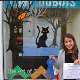 Kids Show Off Their Scariest Talents In Westport Window Painting Contest