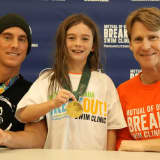Olympians Prove Their 'Medal' At Saw Mill Club Swim Clinic