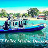Darien Marine Police Rescue Man Who Jumped From Burning Boat