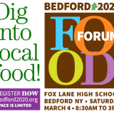 Bedford 2020 Holding First-Ever 'Food Forum'