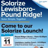 Lewisboro, Pound Ridge Team Up For Solarize Chapter
