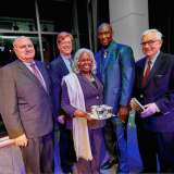 Stamford Law Firm Honors Founder Of Jackie Robinson Foundation