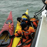 Greenwich Police Rescue Kayaker Who Fell Out of Kayak In Long Island Sound
