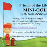 Fore! Tee Off In The Stacks At Fairfield Public Library