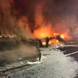 I-84 Reopens After Hours-Long Closure Following Fiery Crash