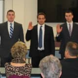 Fairfield Police Chief Swears In Own Son, Two Other New Officers