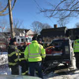 Fairfield Firefighters Help At House Fire, Frozen Pipe At SHU, Oil Delivery