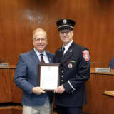 Moving Up: Danbury Fire Department Veteran Promoted To Captain