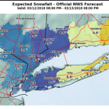 Eye On The Storm: New Snowfall Projections As Nor'easter Nears