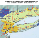 Projected Snowfall Totals Increase For Midweek Nor'easter