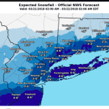 First Snowfall Projections Released For Start-Of-Spring Storm