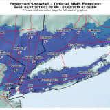 Eye Of The Storm: Timing, Latest Snowfall Projections
