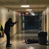 East Fishkill PD Holds Active Shooter Training At John Jay HS