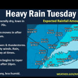 Storms Will Bring Torrential Downpours, Dangerous Winds To Area