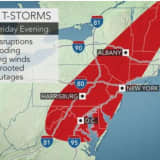 Severe Storms Will Sweep Through Area Bringing Changes For The Weekend