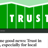 Trust In News Media Rising, Especially Confidence In Local News, Survey Says