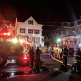 Area Home Damaged In Three-Alarm Fire