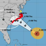 Dramatic Change In Path Projected As Cat 4 Hurricane Florence Closes In On Coast
