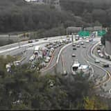 Tractor-Trailer/SUV Crash Causes I-287 Gridlock During Evening Commute