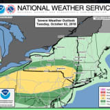 Severe Weather Possible: Scattered Storms With Locally Heavy Rain Possible