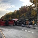 Driver Identified In Fatal Crash That Caused Hourslong I-95 Closure, Injured Greenwich Woman