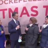 Rockefeller Center Christmas Tree From Wallkill Arrives In Manhattan