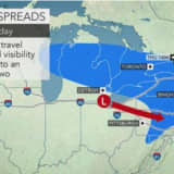 Accumulating Snow Now Likely In Much Of Area As Quick-Moving Storm Sweeps Through