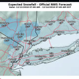 New Snowfall Projections, Timing For Quick-Moving Storm That Will Sweep Through Area
