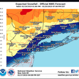 Snow, Ice Accumulation Projections Released For Major Storm That Will Follow Overnight Snow