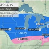 Snow Possible Overnight Before Bigger Storm Arrives Tuesday