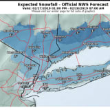 Eye On The Storm: Here's How Much Snowfall To Expect