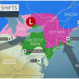 Storm System Winds Down With Big Change In Weather Pattern Coming This Week
