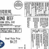 Possible Contamination Leads To Recall Of 43,000 Pounds Of Ground Beef