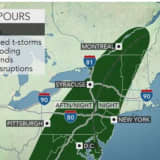 Storm System Will Bring Thunderstorms, Gusty Winds With Flash Flooding Possible