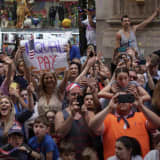 Cuomo Signs Equal Pay Law At Champion USA Women's Soccer Team's NYC Canyon Of Heroes Parade