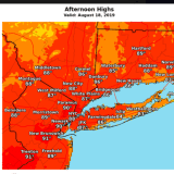 Threat Increases For Scattered Thunderstorms As Heat, Humidity Rise