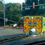 DETOUR: SUV Overturns, Topples Route 15 Utility Pole In Jefferson