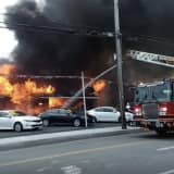 Three-Alarm Fire Destroys One Of Area's Oldest Car Dealerships