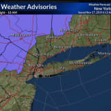 Nor'easter Nears: Winter Weather Advisory Issued For Parts Of Area