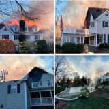 Photos: Fire Destroys New Canaan Home