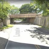 Truck Crashes Into Overpass In Westchester